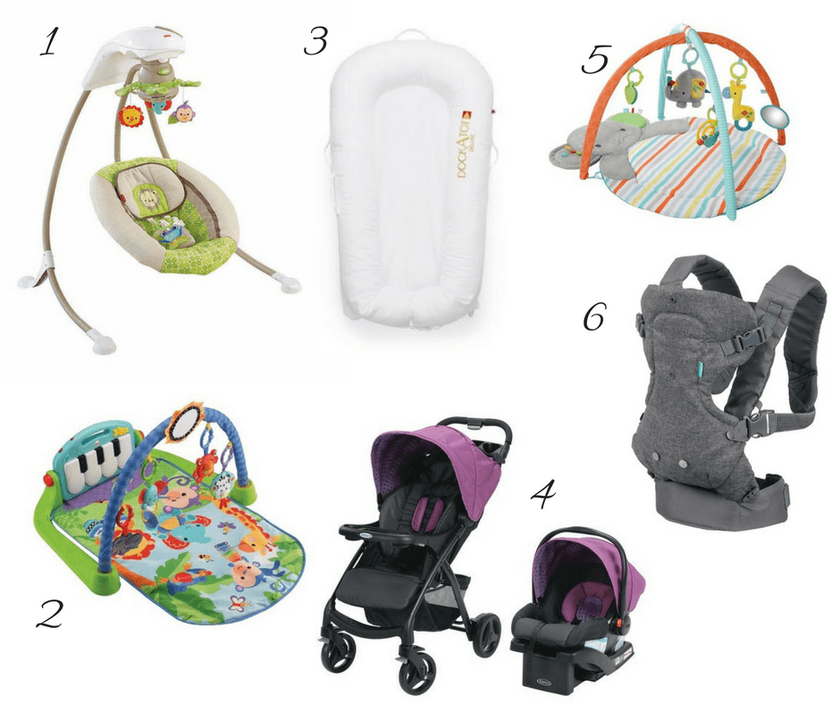 gift ideas for new moms, baby shower gifts, gifts for newborns and children under 12 months.