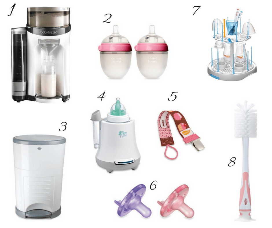 Gift Guide for New Moms, baby products, new mom baby list