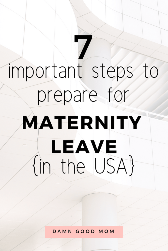 Learn how to plan time away from work efficiently. Make the most of your maternity leave with these steps