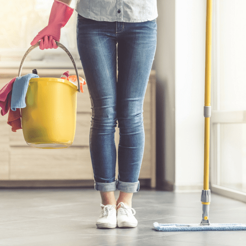 spring cleaning tips and ideas