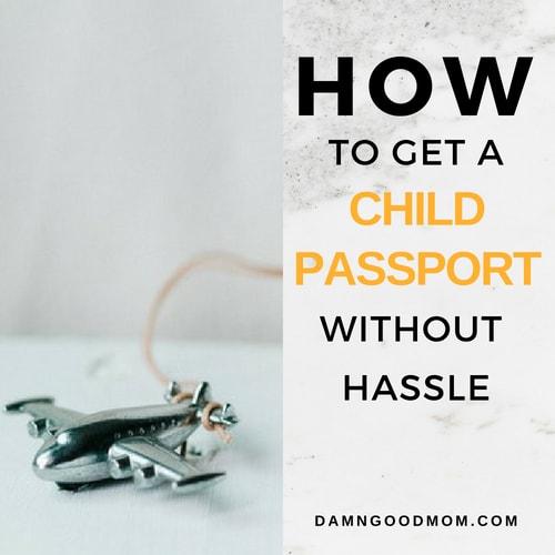 How to get a child passport, United States Passport