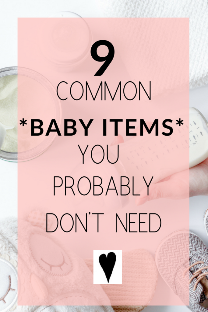 common baby items you don't need
