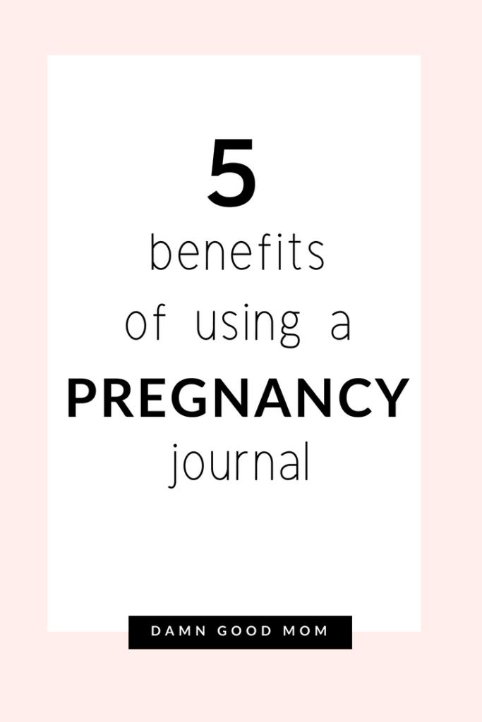 5 benefits of bullet journals during pregnancy