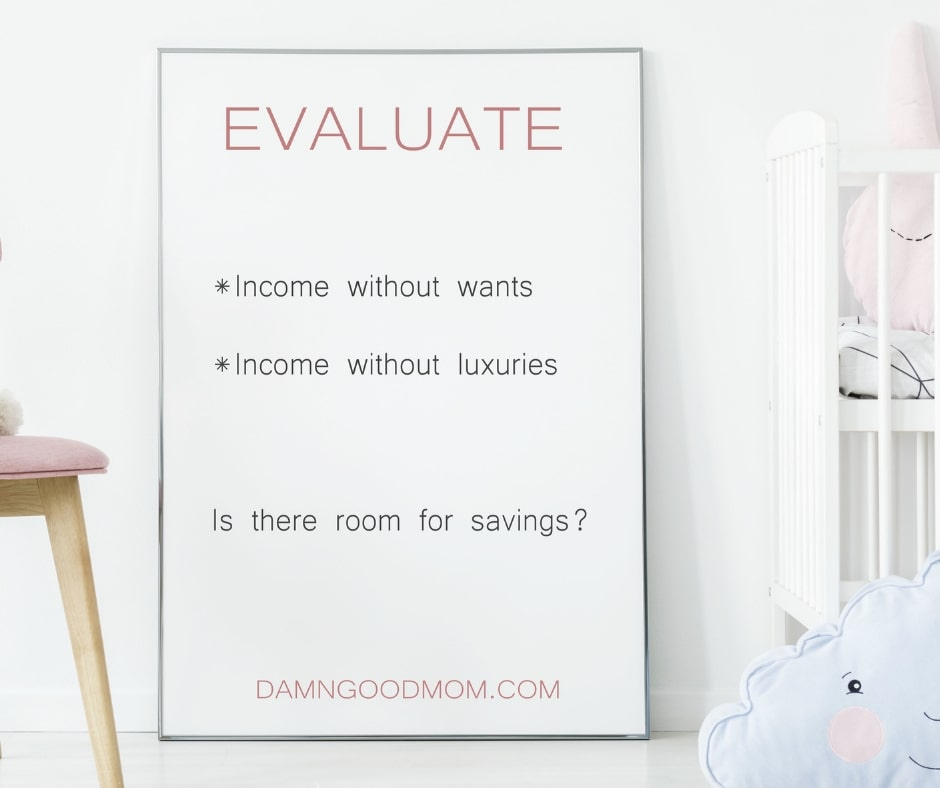 how to create a budget evaluate how money is spent
