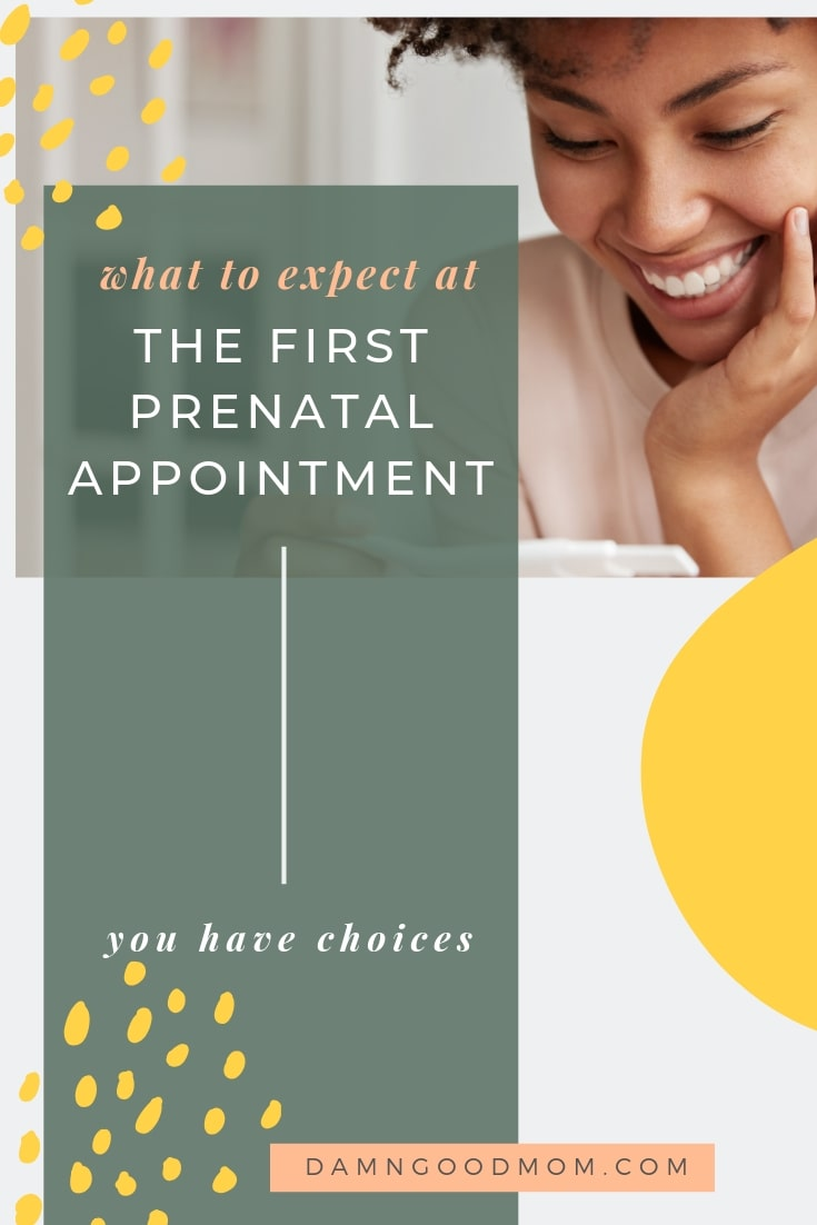 What to expect at the first prenatal appointment
