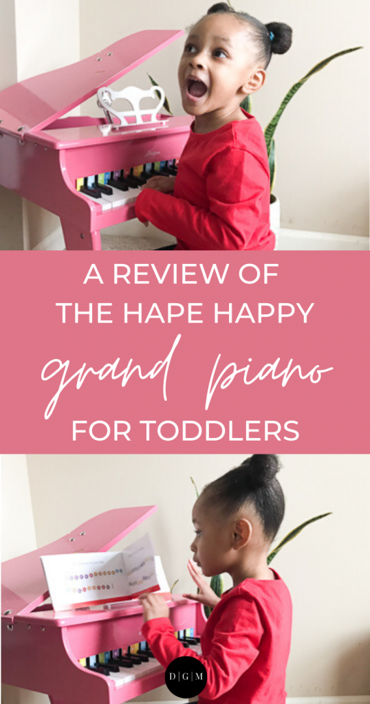 Pin Hape Happy Grand Piano Review