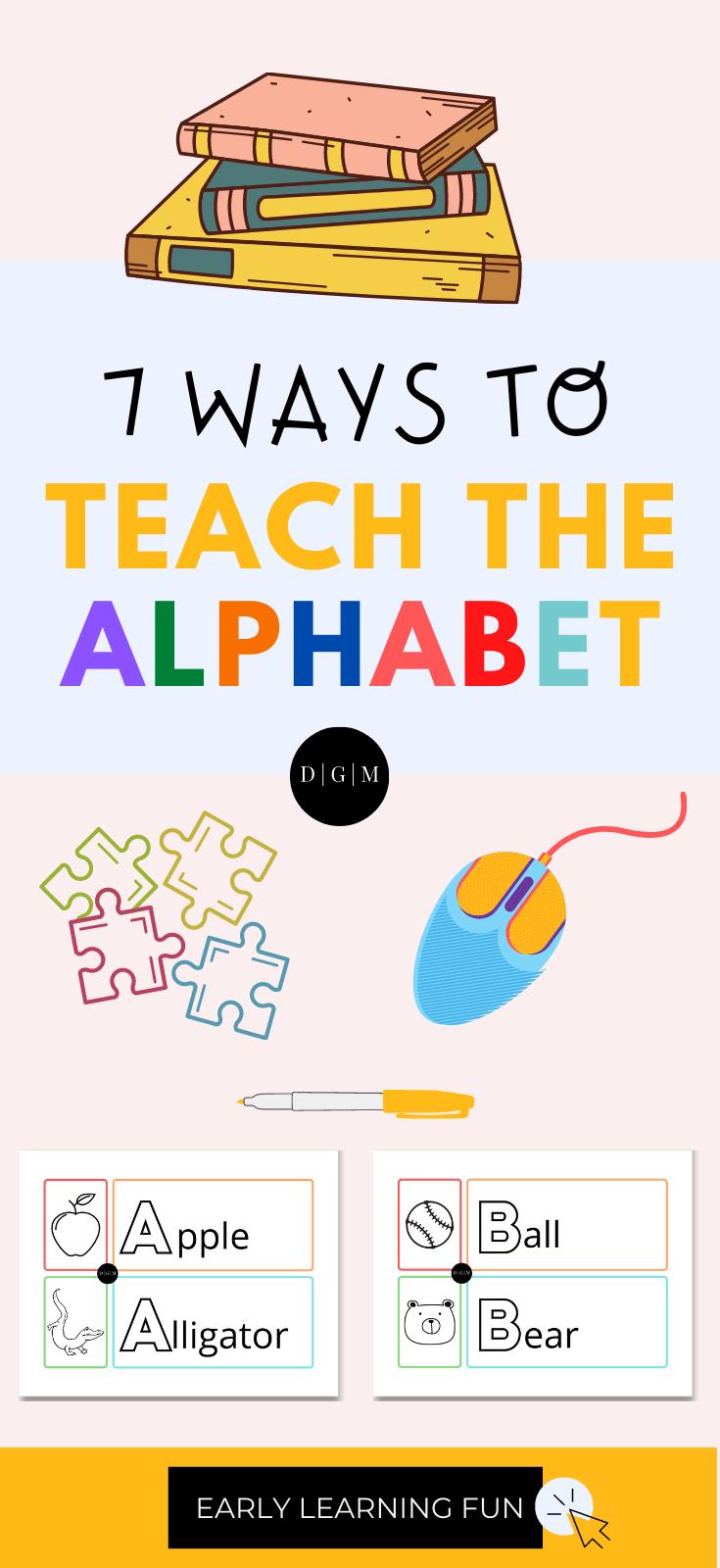 7 ways to teach the alphabet