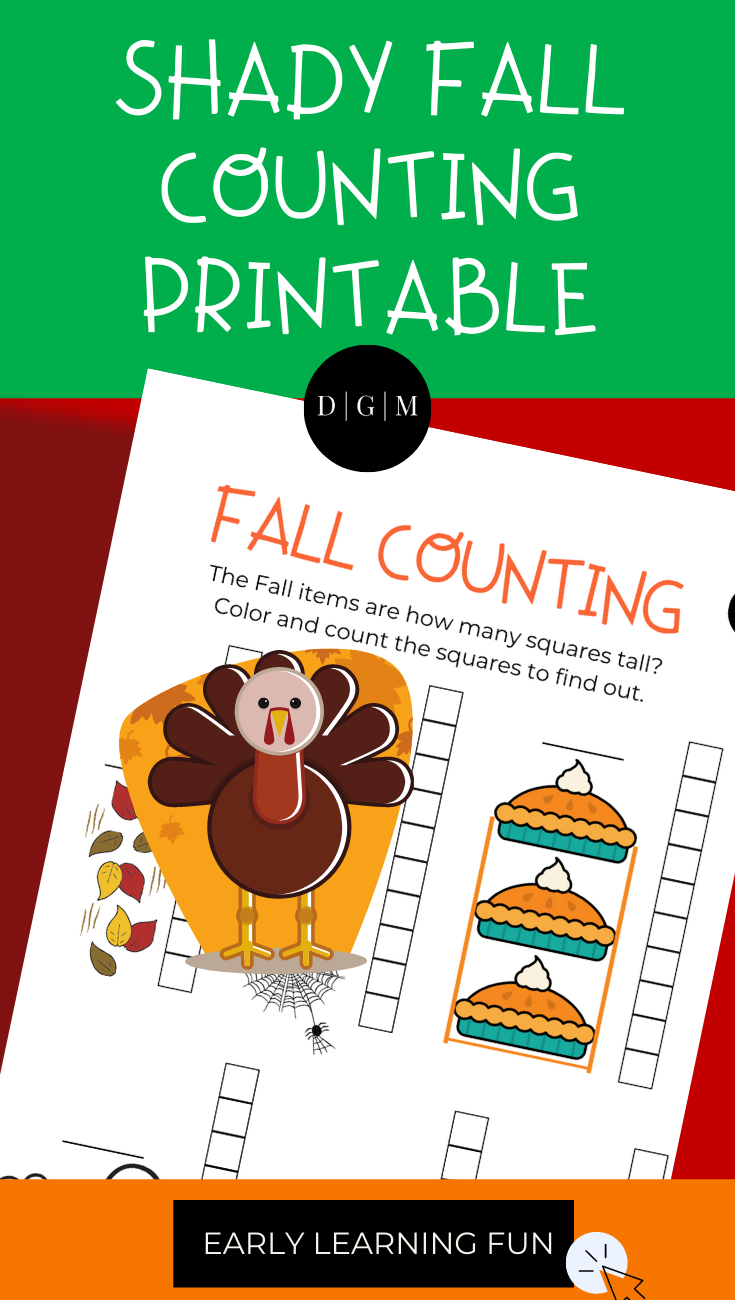 Fall Counting Printable