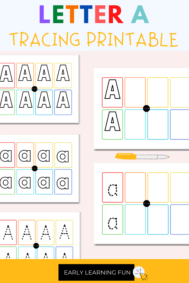 Tracing Letters Worksheet Bundle for Kids, Free printable sample for letter tracing