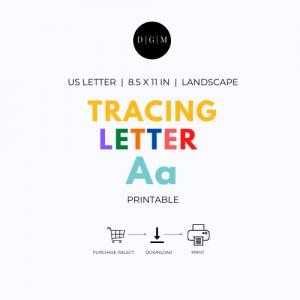 Letter A Printable Worksheets