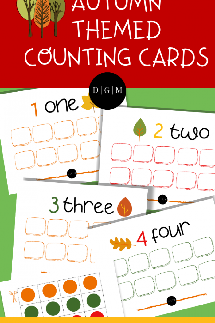 Autumn Preschool Printables – Subscriber Bonus!