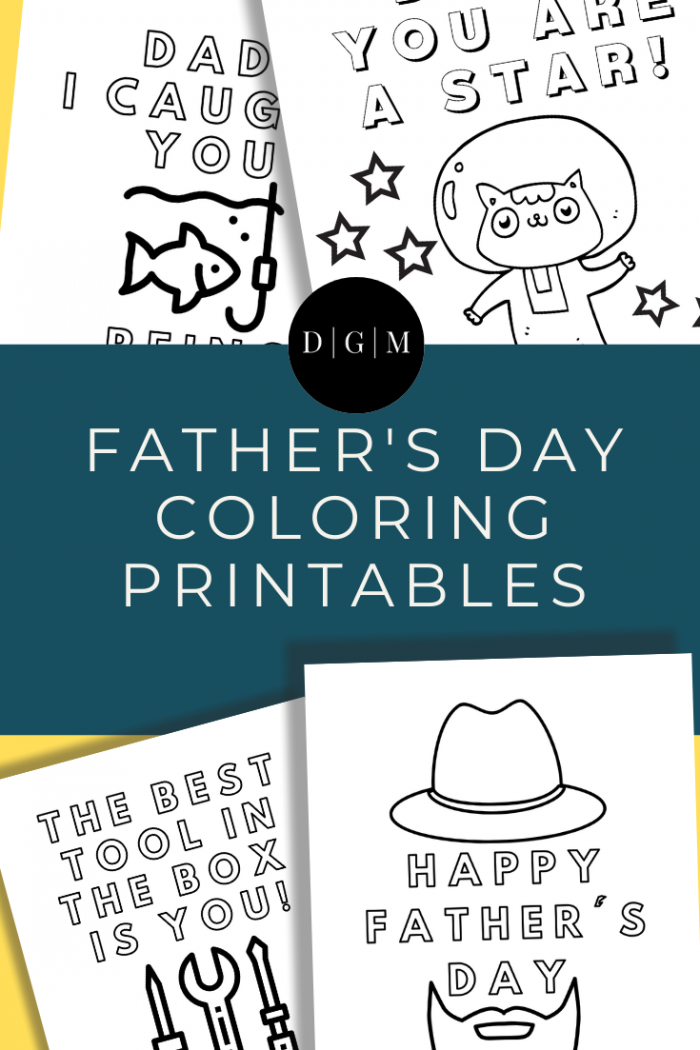 {Free} Father's Day Coloring Printables