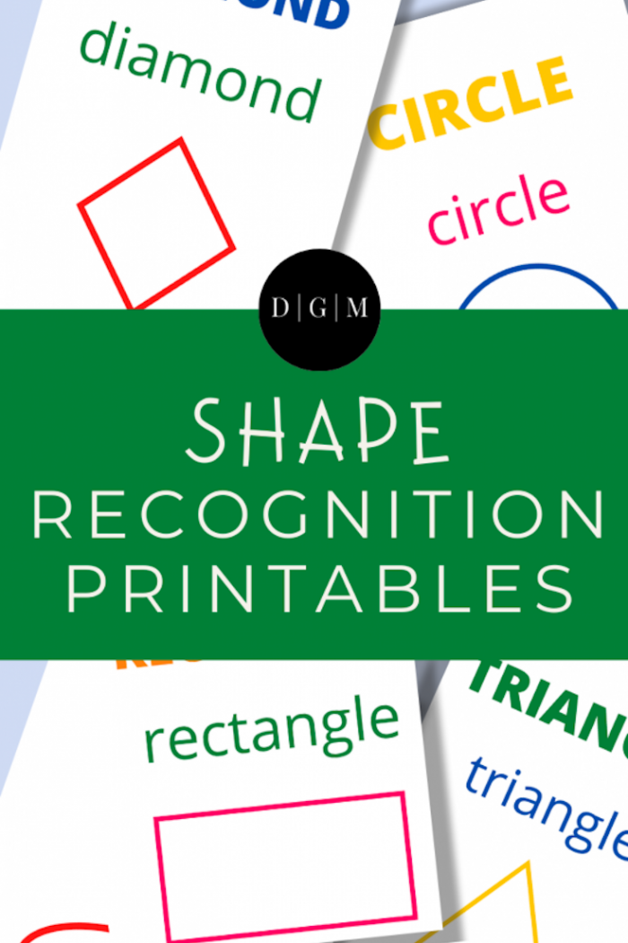 {Free} Shape Recognition Printables