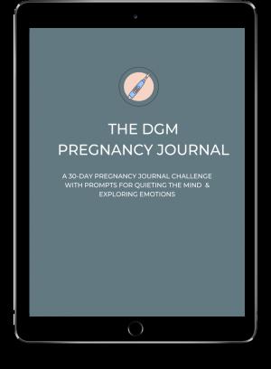 30-Day Pregnancy Journal Tablet